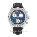 Breitling Transocean Blue Dial A53040.1 39 MM