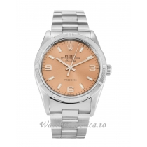 Rolex Air-King Salmon Dial 14010M-34 MM