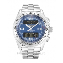 Breitling Blue Dial B1 A68362-46 MM