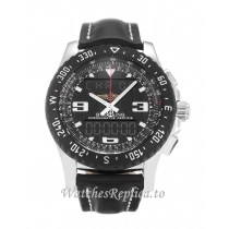 Breitling Airwolf Black Dial A78364-46 MM