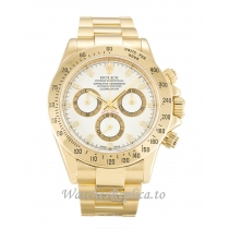 Rolex Daytona White Dial 116528-40 MM