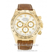 Rolex Daytona White Dial 16518-40 MM