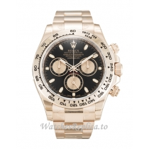 Rolex Daytona Black Dial 116505-40 MM