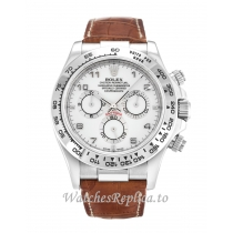 Rolex Daytona White Dial 116519-40 MM