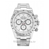 Rolex Daytona White Dial 116520-40 MM