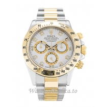 Rolex Daytona White Diamond Dial 116523-40 MM