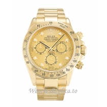 Rolex Daytona Champagne Diamond Dial 116528 -40 MM