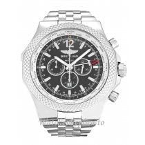 Breitling Bentley GMT Black Dial A47362-49 MM