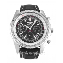 Breitling Bentley Motors Black Dial A25362-49 MM