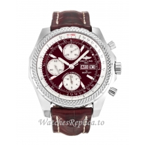 Breitling Bentley GT Burgundy Dial A13362-45 MM