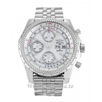 Breitling Bentley GT Silver Dial A13362-45 MM