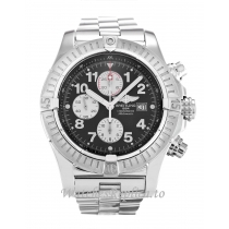 Breitling Super Avenger Black Dial A13370 48 MM