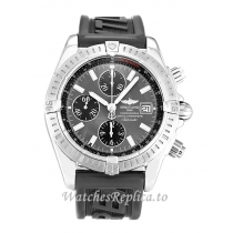 Breitling Chronomat Evolution Grey Dial A13356 44MM