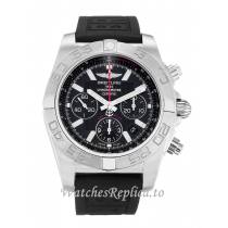 Breitling Chronomat Black Dial 44 AB0110 43MM
