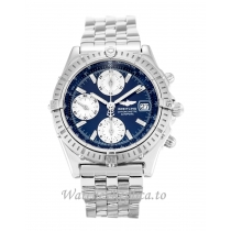 Breitling Chronomat Blue Dial A13352 38 MM