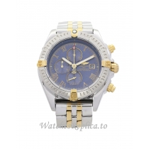Breitling Chronomat Blue Dial  44MM