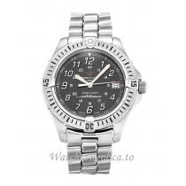 Breitling Colt Quartz Grey Dial A64350 38 MM