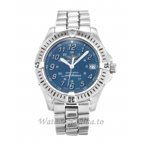 Breitling Colt Quartz Blue Dial A64350 38 MM