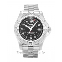 Breitling Colt Quartz Black Dial A74380 41 MM