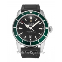Breitling SuperOcean Heritage Black Dial A17320 46 MM