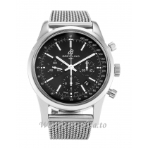 Breitling Transocean Chronograph Black Dial AB0152 43 MM