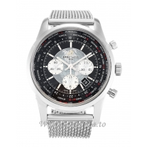 Breitling Transocean Chronograph Black Dial AB0510 46 MM