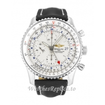 Breitling Navitimer World White Dial A24322-46 MM