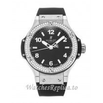 Hublot 38mm Black Dial 361.SX.1270.RX.1104-38 MM