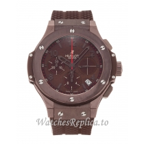 Hublot 41mm Brown Dial 341.SL.1008.RX 41 MM