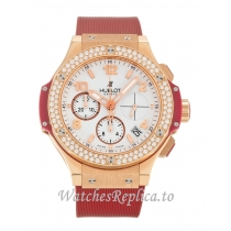 Hublot 41mm White Dial 341.PR.2010.RR 41 MM