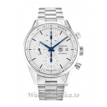 Tag Heuer Carrera Silver Dial CAR2211.BA0721 39 MM