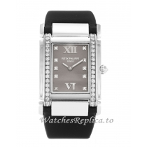 Patek Philippe Twenty 4 Grey Diamond Dial 4920G 25 MM