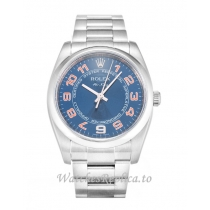 Rolex Air-King Blue Dial 114200-34 MM