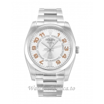 Rolex Air-King Silver Dial 114200-34 MM