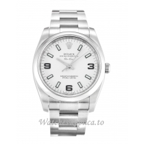 Rolex Air-King White Dial 114200-34 MM