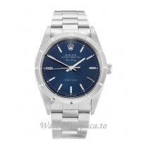 Rolex Air-King Blue Dial 14010M-34 MM