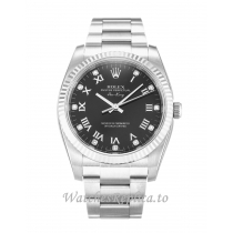Rolex Air-King Black Diamond Dial 114234-34 MM