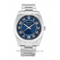 Rolex Air-King Blue Dial 114234-34 MM