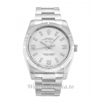 Rolex Air-King Silver Dial 114210-34 MM