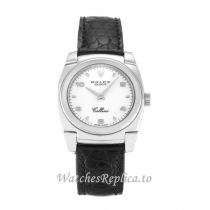 Rolex Cellini White Dial 5310 25 MM