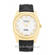 Rolex Cellini White Dial 5320/8  32 MM