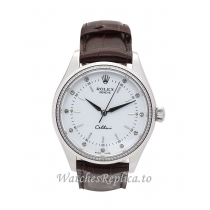 Rolex Cellini White Dial 4233/8 25 MM