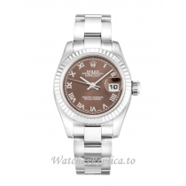 Rolex Datejust Lady Bronze Dial 179179 26MM