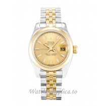 Rolex Datejust Lady Champagne Dial 179163 26MM