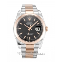 Rolex Datejust Black Dial 116201 36MM