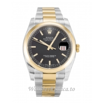 Rolex Datejust Black Dial 116203 36MM