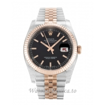 Rolex Datejust Black Dial 116231 36MM