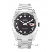 Rolex Datejust Black Dial 116200 36MM