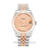 Rolex Mid Size Datejust Pink Floral Dial 178271 31MM