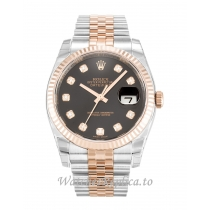 Rolex Datejust Black Diamond Dial 116231 36MM